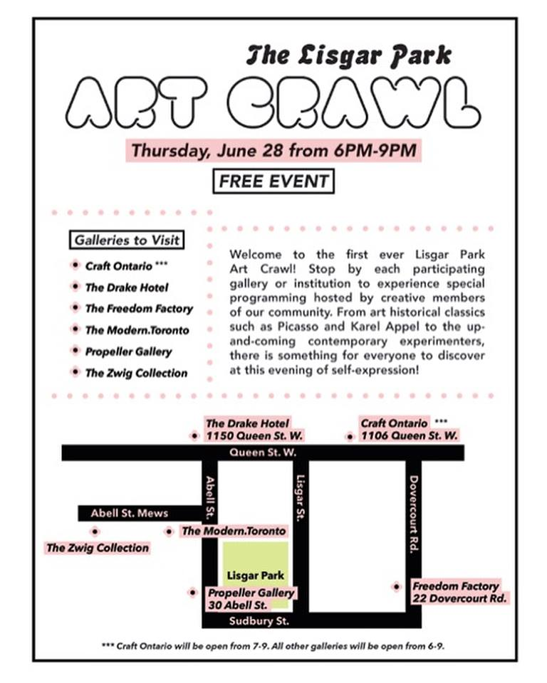 The Lisgar Park Art Crawl