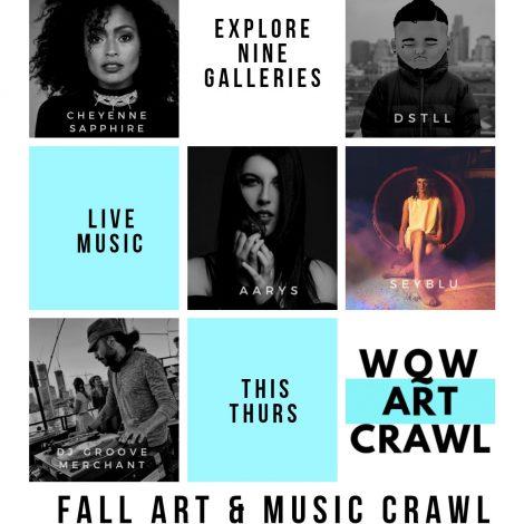 Fall Art and Music Crawl